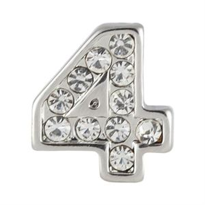 Picture of Silver Number Four Charm